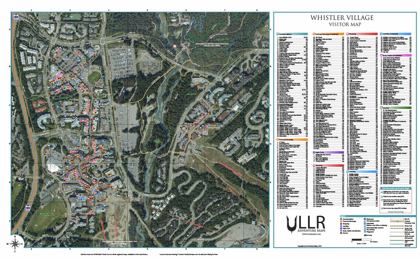 Whistler Village Visitor Map (NEW)